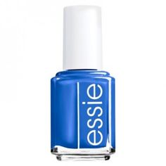 Essie Butler Please Nail Polish. I love doing shades of blue like this when I have a nice tan.