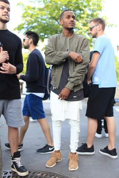 They Are Wearing: Paris Men's Fashion Week Spring 2015 - Slideshow - WWD.com