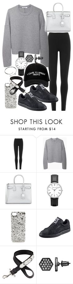 """Untitled #19513"" by florencia95 ❤ liked on Polyvore featuring DKNY, T By Alexander Wang, Yves Saint Laurent, Manolo Blahnik, Marc by Marc Jacobs, Puma, Givenchy, Simply Vera, Cartier and women's clothing"