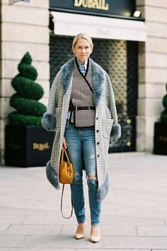 Winter layers #StreetStyle