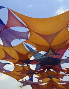 burning man shade structure - Google Search