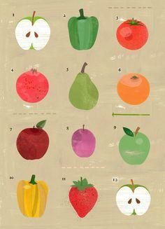 Un poco de todo #fruit #food #art