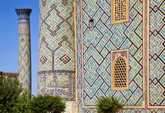 #silkroute Camels, caravans, silks and spices: Samarkand is a city of history, beauty and artwork, and is one of the oldest inhabited cities in the world. Founded by the Persians in approximately 700 B.C., it was conquered by Alexander the Great in 329 B.C., and later was controlled by the Mongols, Timurids and Turks. As one of the major cities on the Silk Road.