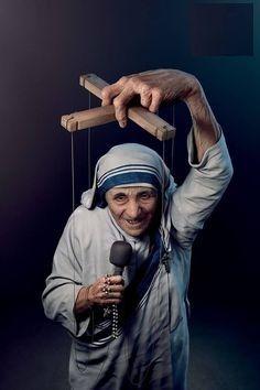 La madre Teresa de Calcuta ☠️ Otro de los grandes fraudes de la Iglesia Católica.