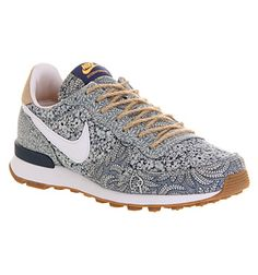 ... 629684-303 Nike Nike Internationalist (w) Blue Recall Linen Liberty -  Hers trainers Nike free internationalist leather damen run schuhe ... cf6a235228