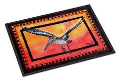Bird - Pelican Indoor or Outdoor Mat 18x27 Doormat