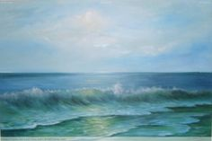 Mar de Peruíbe. Óleo sobre tela. Dorimar Carvalho Moraes. Heaven, Boat, Google, Outdoor, Oil On Canvas, Home, Artists, Art, Paintings