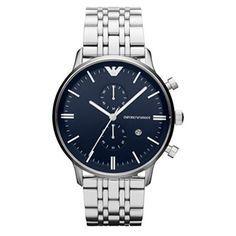 Reloj Hombre Emporio Armani AR1648, reloj con esfera de color azul, con 2 años de garantia.