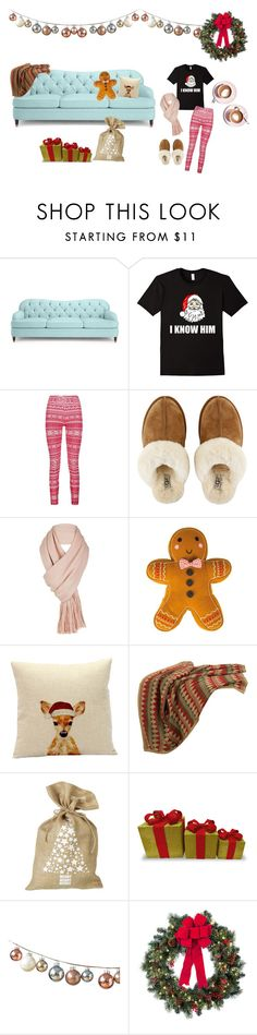 """""""Christmas Morning"""" by bookworm528 ❤ liked on Polyvore featuring Kate Spade, Boohoo, UGG, Free People, HiEnd Accents, Martha Stewart, Parlane and Improvements"""
