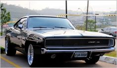 Dodge Charger #dodgechargervintagecars #VintageMuscleCars