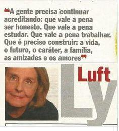 Lya Luft me representa!