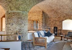 The home of hip houses and architecture for sale or rent, cool property finds and stylish interiors in the UK and worldwide Mad About The House, Unusual Buildings, Dome House, Outdoor Furniture Sets, Outdoor Decor, Exposed Brick, Cool Rooms, Amazing Architecture, The Guardian