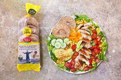 Αυτές είναι οι καλοκαιρινές σαλάτες που θέλουμε να απολαμβάνουμε κάθε μέρα | Food | Ladylike.gr Cobb Salad, Tacos, Mexican, Ethnic Recipes, Food, Meals, Yemek, Eten