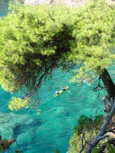 Explore Kolocep island in Croatia with Huck Finn Adventure Travel team