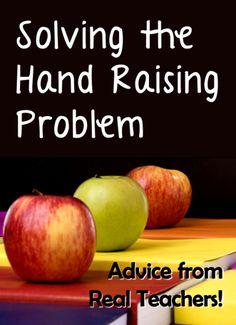 Do you have a problem with students constantly raising their hands when you are giving instruction? Read Solving the Hand Raising Problem to find 15 terrific tips and ideas! This post is the first in a new series on Laura Candler's Corkboard Connections blog called Advice from Real Teachers.