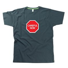 Careful Now Adult Father Ted T-Shirt by Hairy Baby