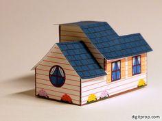 Little toy cottage – Digitprop – Paper design