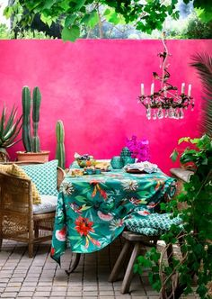 Summer inspired decorating tips for the home Visit http://www.redonline.co.uk for more inspiration.