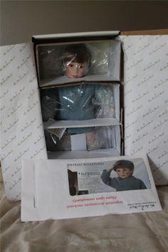 Danbury Mint JFK John John JFK Jr A Farewell Salute Doll by Elke Hutchens | eBay