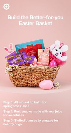 Enjoying your Easter basket doesn't mean you need to take a cheat day. Target has everything you need to make a basket that's part of a healthy lifestyle.