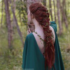 Hair: Renaissance #Hair ~ Huldra, by aurorabraids.