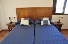 Dormitorio de 2 camas en la planta superior