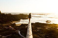 pnwphotographer:  Christina Collier at the Oregon Coast.