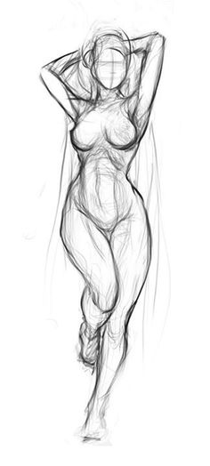 Exceptional Drawing The Human Figure Ideas. Staggering Drawing The Human Figure Ideas. Gesture Drawing, Life Drawing, Drawing Sketches, Art Drawings, Figure Drawings, Drawing Female Body, Female Body Art, Human Anatomy Drawing, Anatomy Sketches