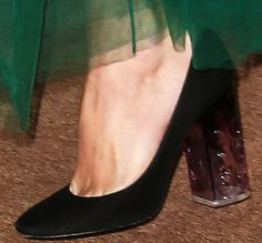 "Keira stepped out in a pair of Nicholas Kirkwood ""Carnaby"" pumps"