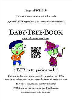 Este es nuestro cartel para empezar a hacer publicidad de la web. Si no ves ninguno en tu ciudad y te apetece descargarlo... ¡Adelante! www.baby-tree-book.com