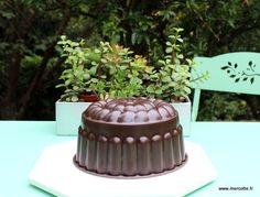 Gâteau léger chocolat vanille au parfum d'orange sans matière grasse - Mercotte.