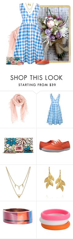 """sundress & keds"" by niteowlgirl ❤ liked on Polyvore featuring Jura, Chan Luu, Roger Vivier, Keds, Edge of Ember, Virzi+De Luca, Marni and Chewbeads"