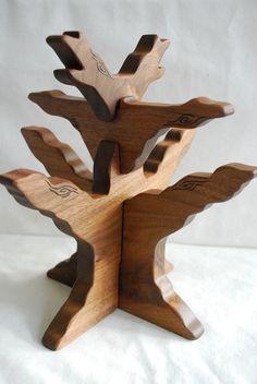 tree- on nature table, decorate seasonally