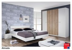 Rauch 'Almada' Range German Made Bedroom Furniture. White with San Remo Oak. Alpine White, Bedroom Furniture, Home And Garden, It Is Finished, Layout, Doors, Design, House, Home Decor