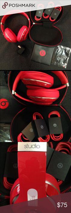 e53852b5273 New Beats Studio 2.0 New Beats Studio 2.0 Wired, Over Ear Rechargeable  Headphones. 3.5