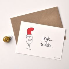 Diy Christmas Cards, Cozy Christmas, Xmas, Christmas Drawing, Homemade Cards, Party Gifts, Artsy Fartsy, Birthday Cards, Place Card Holders