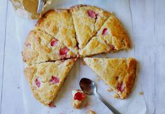 Ed Kimber's strawberry scones - Strawberry time!