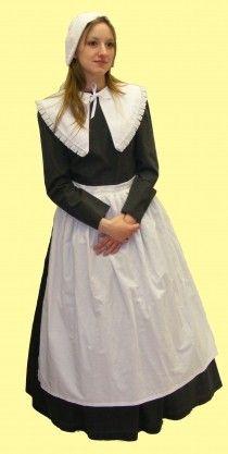 Hire Puritan Maid Fancy Dress, Fairygodmother Costume Hire Online
