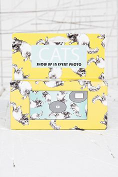 Cats Disposable Camera. Cats appear in every picture! LOVE IT! <3