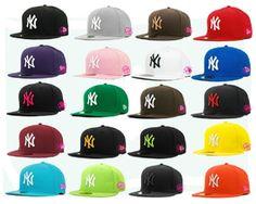 Hat hip-hop hat mlb  man cap and women cap bboy flat brim cap baseball cap   free shoping $6.99