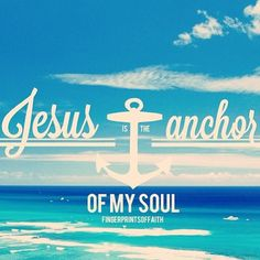 I want Jesus to be the center and rely on the word solely as it is absolute truth and the anchor of my soul.