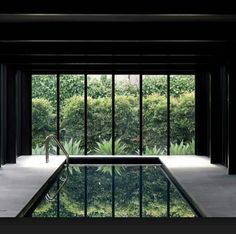 Fun Reasons To Own Luxury Swimming Pools – Pool Landscape Ideas Luxury Swimming Pools, Luxury Pools, Indoor Swimming Pools, Swimming Pool Designs, Lap Pools, Dream Pools, Interior Garden, Interior And Exterior, Loft Design