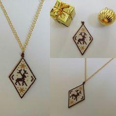 Miyuki Noel Geyiği Kolye #miyuki #miyukinecklace #necklace #miyukikolye #kolye #miyukitakitasarim #takitasarim #takıtasarım #jewelery #jewellery #jewelerydesign #jewellerydesign #super #süper #supertakilar #süpertakılar #harikatakılar #elyapımı #handmade #yılbaşıhediyesi #yeniyılhediyesi #noel #gift #hediye #christmas #christmasgift #newyear #deer #yeniyıl #yılbaşı