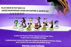 Disney Infinity 3.0: Mulan, Star Wars, Mickey/Minnie, Quorra/Flynn, Olaf, Inside Out - NeoGAF