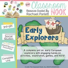 Explorer unit some great project ideas here early modern times early european explorers the age of exploration google classroom compatible publicscrutiny Gallery