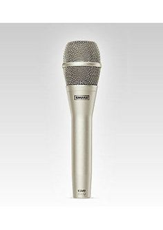 Shure KSM Microphone Series KSM9-SL Supercardioid and Cardioid Condenser Mic