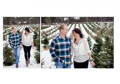 Hansen Tree Farm engagement, winter engagement, Christmas tree farm engagement, www.crystalhedbergphotography.com