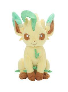 "Pokemon XY Leafeon 8"" Plush*"