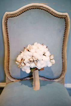 cotton boll bouquet