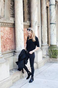 ALL BLACK FOR NEW YORK | Krystal Schlegel